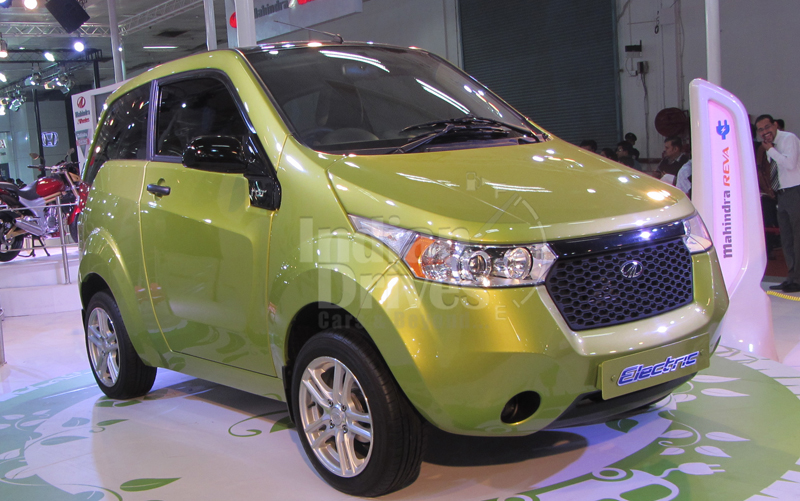 Mahindra Tags Electric Car As e2o