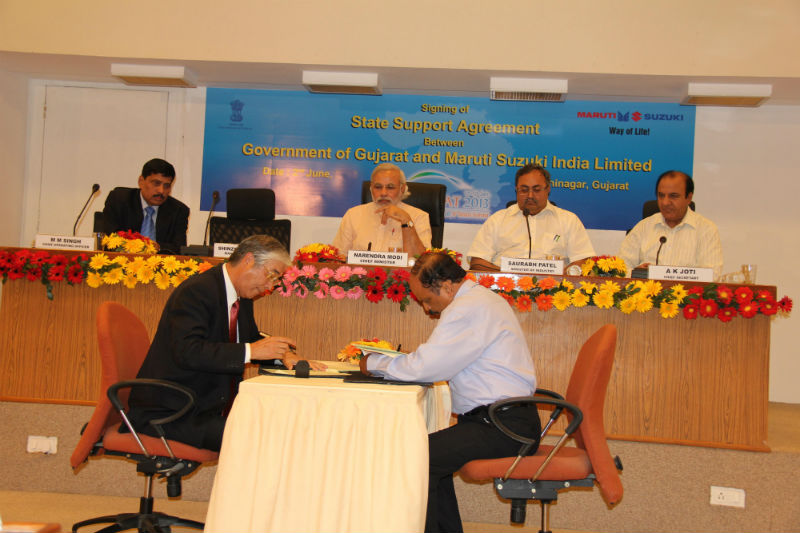 Maruti Suzuki to establish two manufacturing units at Gujarat
