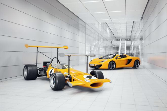 McLaren Marks Its 50th Anniversary In 2013