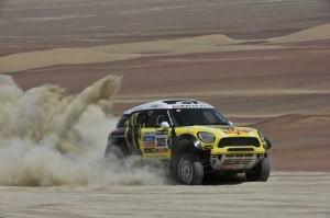 Mini wins Dakar 2013