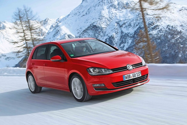 New Volkswagen Golf 4Motion AWD