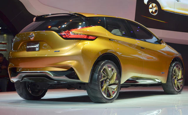 2013 Nissan Resonance Concept back view
