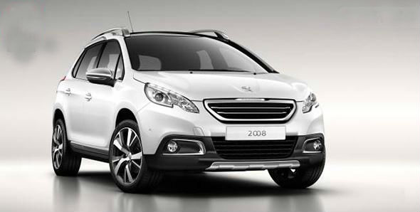 Peugeot 2008 Compact SUV unveiled