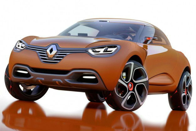 Renault releases an image of Capture Crossover ahead of Geneva Motor Show