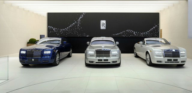 Rolls Royce Celebrates a decade of Phantom