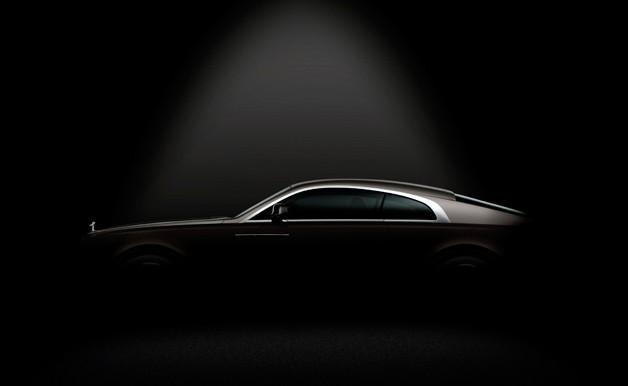 Rolls-Royce Wraith first official teaser