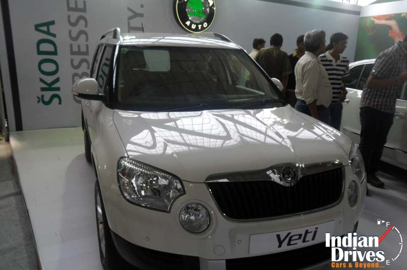 Skoda Yeti grabs Small SUV of the year title