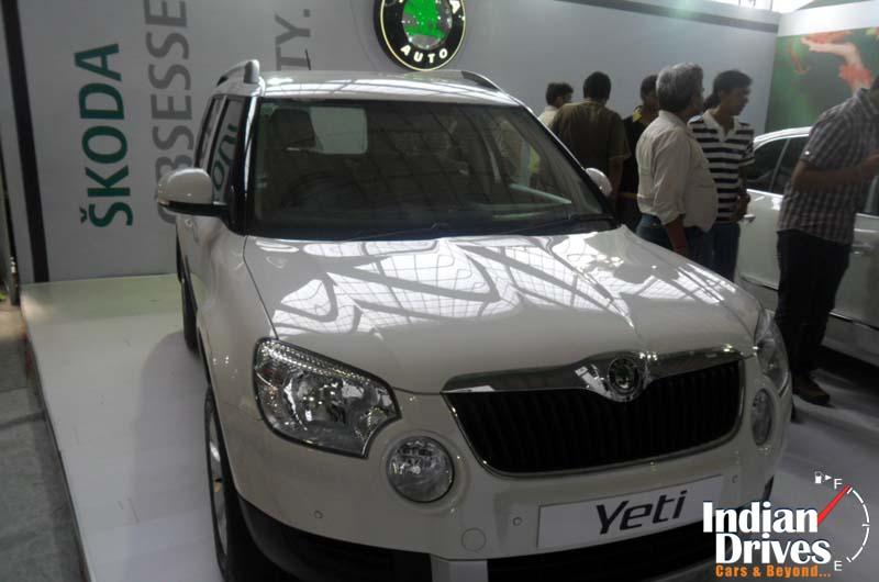 Skoda Yeti grabs Small SUV of the year title