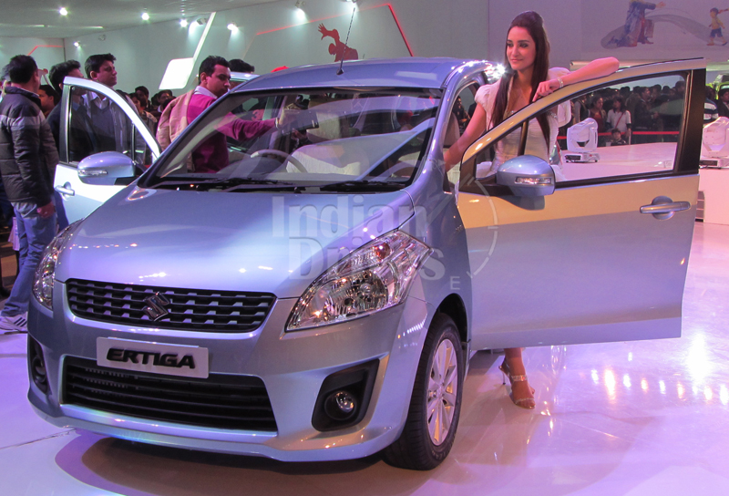 Suzuki reveals Ertiga facelift in Indonesia