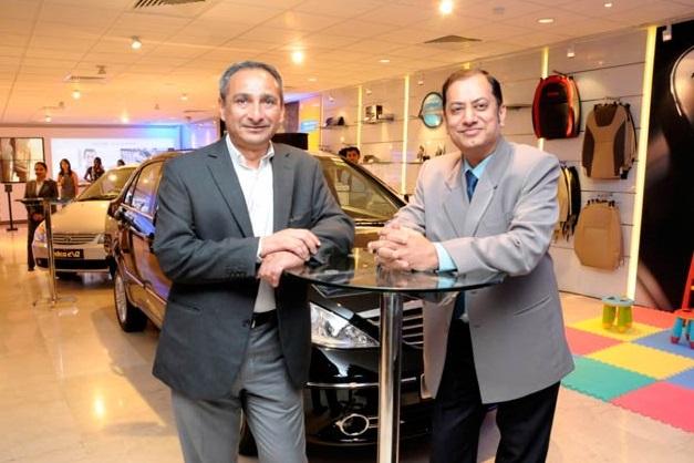 Tata Motors' opens flagship showroom for passenger vehicles