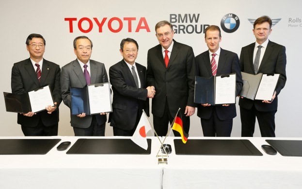 Toyota And BMW Announce Sports Car