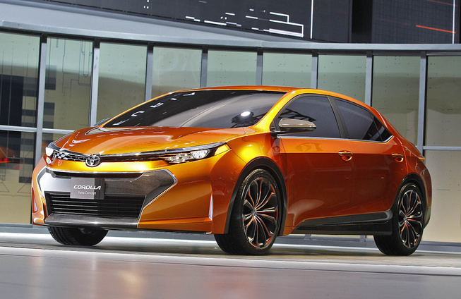 Toyota Furia Concept breaks cover at Detroit Auto Show