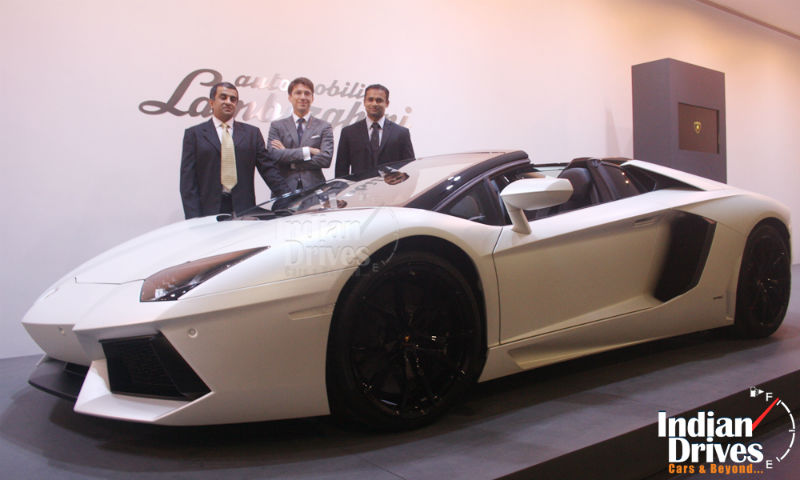 Lamborghini Launch in 2013