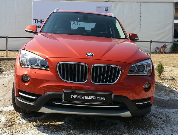 2013 BMW X1 facelift