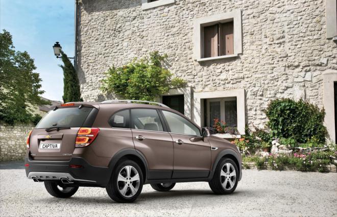 2013 Chevrolet Captiva facelift