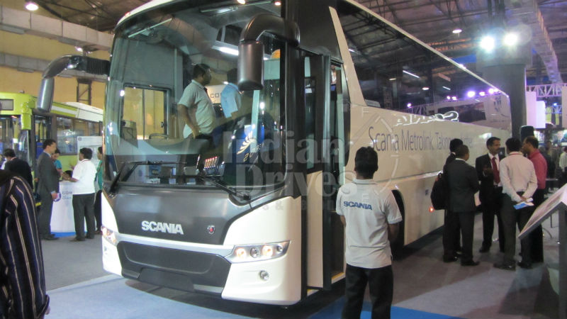 2013 Scania Metrolink launched in India