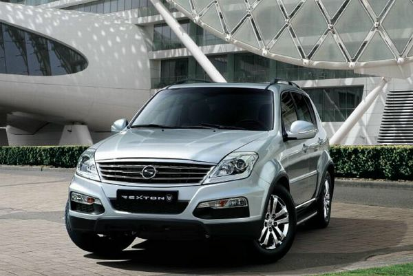 New Ssangyong Rexton W SUV