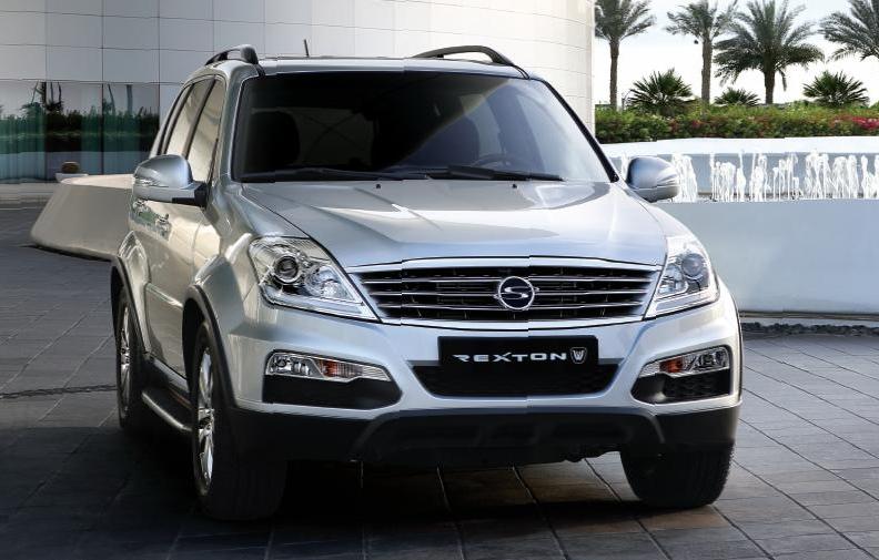 2013 Ssangyong Rexton W SUV