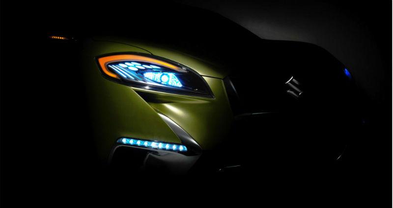 2014 Suzuki S-Cross Teased