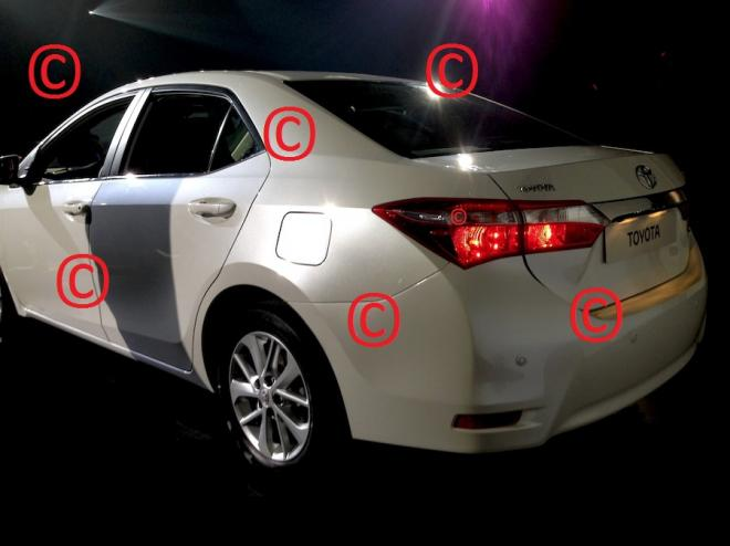2014 Toyota Corolla Uncovered