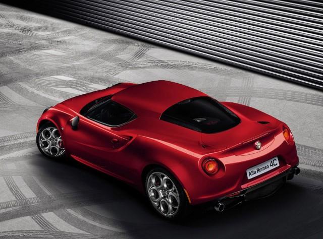 Alfa Romeo 4C Back View