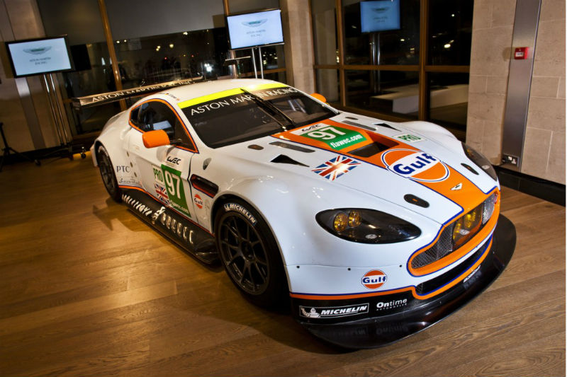 Aston Martin 100th year celebration