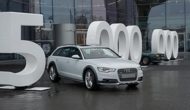 Audi Builds 5 Millionth Quattro