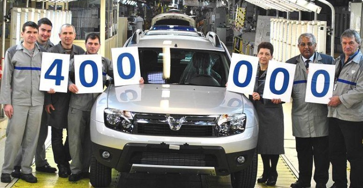 Duster Crosses 400,000 Production Mark