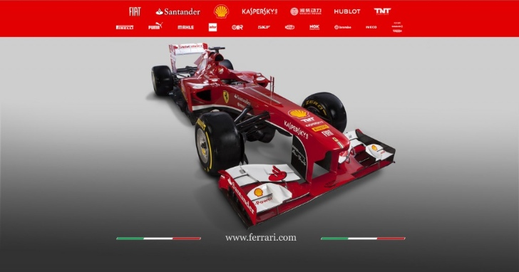 Ferrari Unveils New F138 Formula 1 Car