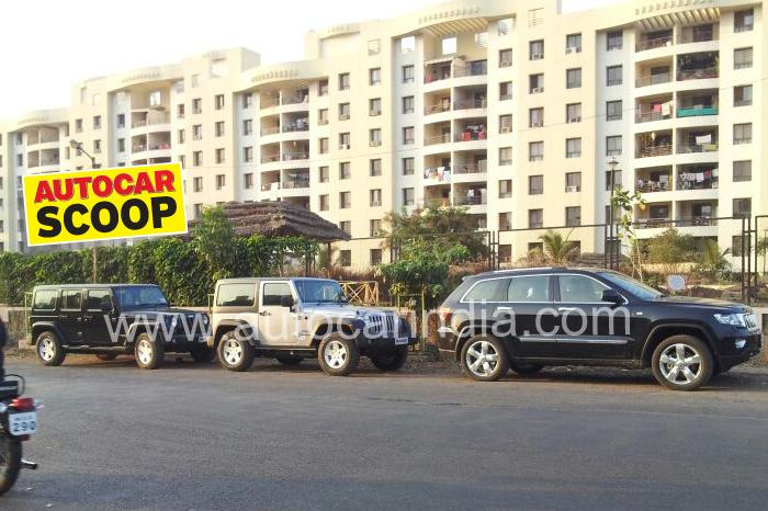 First Ever Spy Image of Jeep India Line-up Emerges