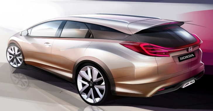 Honda To Reveal Civic Wagon Concept in Geneva