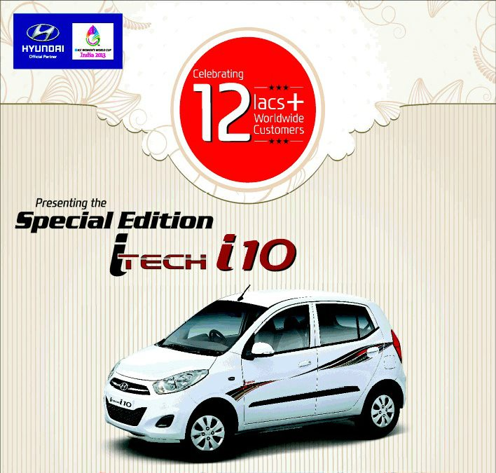 Hyundai To Launch Special Edition i10