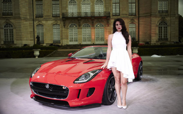 Jaguar F-Type and Lana Del Ray