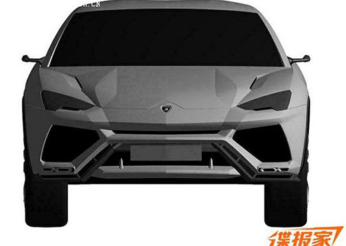 Lamborghini Urus gets patented in China