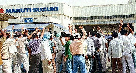 Maruti Suzuki Workers to Strike Work