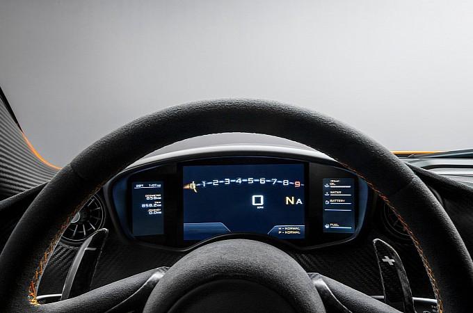 McLaren Reveals interior of P1