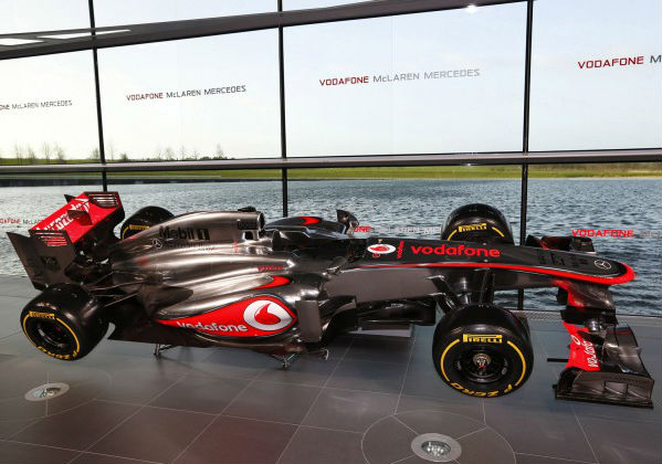 McLaren's 2013 Formula One Car