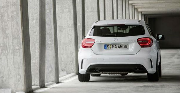 Mercedes-Benz A45 AMG Back View