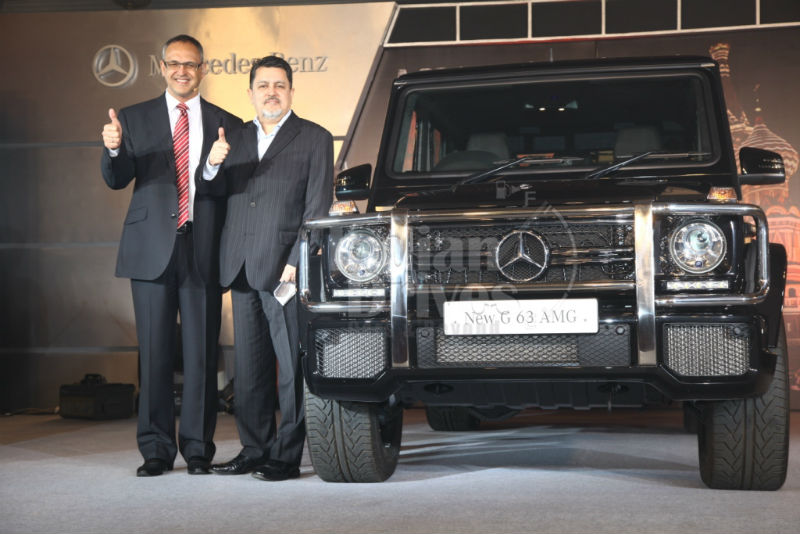 Mercedes Benz G63 AMG Launched in India