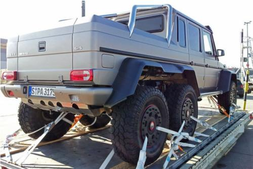 Mercedes-Benz G63 AMG 6X6 Back View