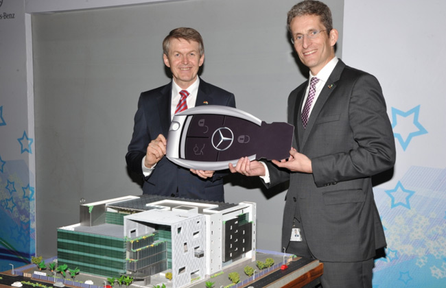 Mercedes-Benz unveils its best In-class facility in India at Bangalore