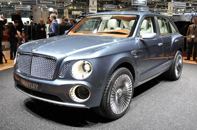 New Bentley EXP 9 F SUV