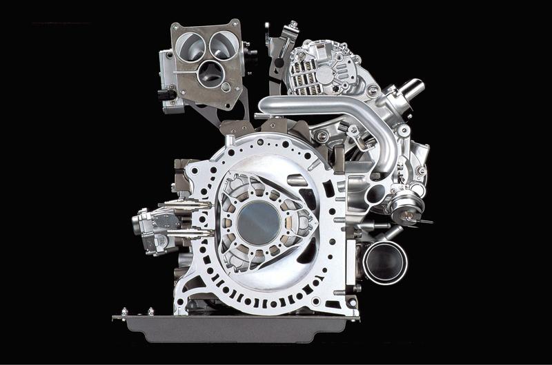 New Mazda Rotary Engine