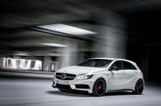 New Mercedes-Benz A45 AMG