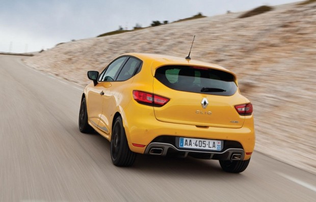 Renault Clio RS 200 Turbo Back View