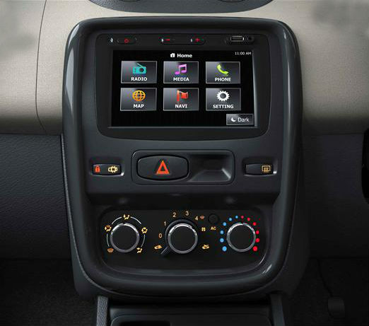 Renault Duster SUV gets a new Media NAV system