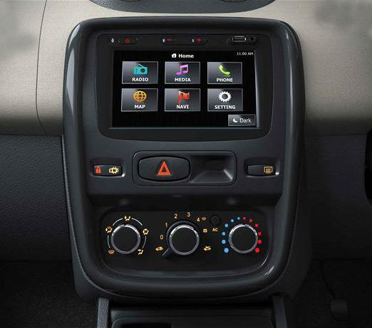 Renault Duster SUV gets a new Media NAV system