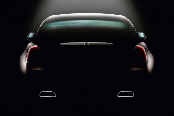 Rolls-Royce Teases more Wraith