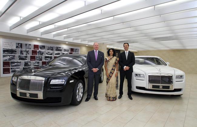 Rolls Royce Opens Showroom in Hyderabad
