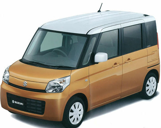 Suzuki Spacia Official Images Leaked